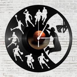 Bakelit óra - Kosárlabdázók