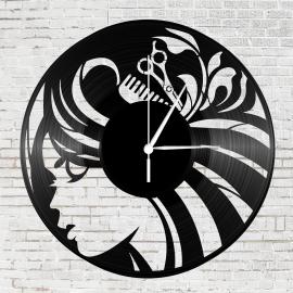 Bakelit óra - Női fodrász