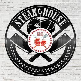 Bakelit falióra - Steak house