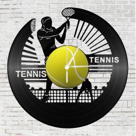 Bakelit óra - Női teniszező