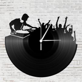 Bakelit falióra - DJ - Lemezlovas